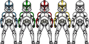 Phase I clone trooper armor by ZEROresolution