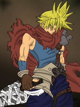 Cloud-Strife2 by outlawjettro