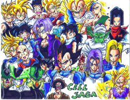 cell saga by trunks24
