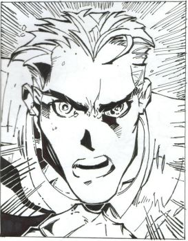 Iceman sketch by neeeil