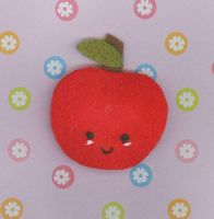 Apple Pin by RyuuseiHime