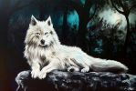 White Wolf by xXLackLusterXx