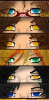 The Family Eyes by Darkdeathqueen