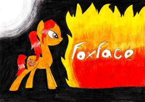 Foxface from Hunger Games as a pony by SpeedFeather