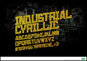 Industrial Cyrillic by atobgraphics