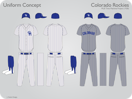 Colorado Rockies 1928 Uniform by JimmyNutini