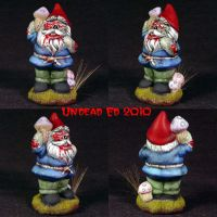 Berenmil The Zombie Gnome ooak by Undead-Art