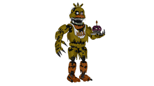 Nightmare Chica - Five Nights at Freddy's 4 by J04C0