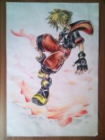 Sora KH3D Sketch by Cornuts16