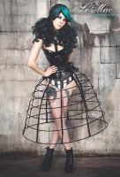 Atelier Sylphe crinoline accessories fashion by AtelierSylpheCorsets
