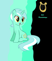 Lyra Heartstrings by AbsentParachute