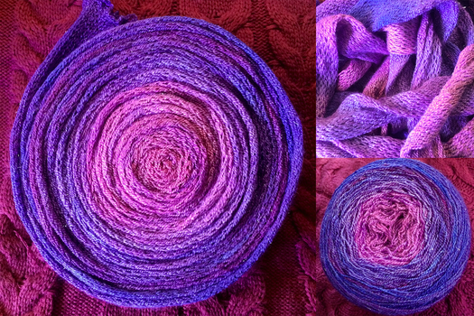 Nebulous - Hand Dyed Yarn by Kariosa-Adopts