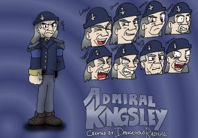 Admiral Kingsley Expressions by Dan-the-Countdowner