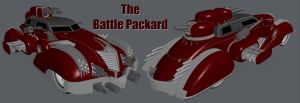The Battle Packard by zeustoves