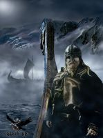 Viking journey by thecasperart