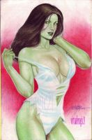 SHE-HULK by JUN DE FELIPE (11222013) by rodelsm21