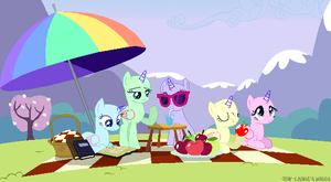 Relaxing picnic(Base#13)Background base by Starchase-Bases