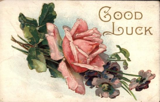 Good Luck Rose by Yesterdays-Paper