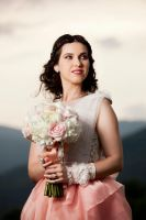 Cristina, bride portrait.. by scata