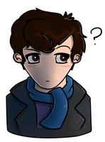 Adorable Sherlock by FTS-Moriarty