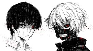 Kaneki by Rosuuri