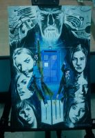 Doctor Who 50th Anniv tribute by mytymark