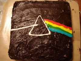 Dark Side of the Cake by Dominoes4Syd