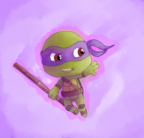 Chibi Donnie by AnimeWaterFall