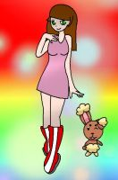 Lindesay and Buneary by xXTaylorTeenWolfXx