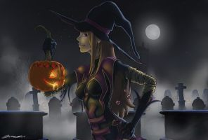 Witch of Hallows Eve by Fpsmike