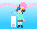 Vanellope Layout by MikariStar