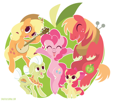 Apple Kin by SpaceKitty