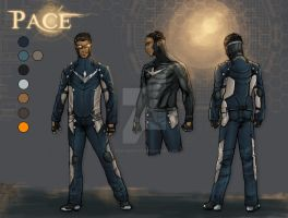 Cmsn- Pace Concept Art 1 by AenTheArtist