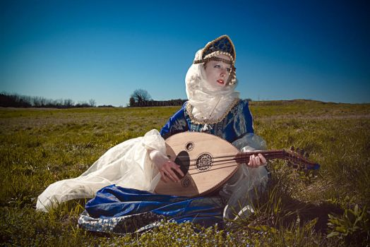 La Madonna Dei Rovi: The Lute Player by THEORY76