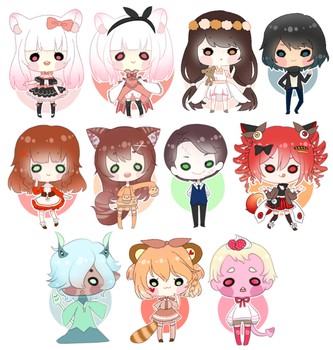 candy chibis | #3 by rinihimme