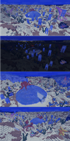 MineCraft Deep Sea Scape by lunchbox1234