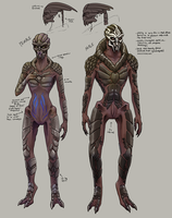 ME: Nude Turian Concepts by ghostfire