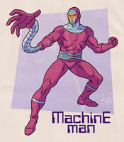 Machine Man by BezerroBizarro