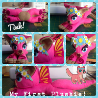 My first plushie! by matchiitehew