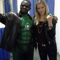 The Lantern meets the Canary Baltimore Comic Con by Leck-Zilla