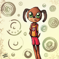 Toontown Doodle by Ini-Inayah
