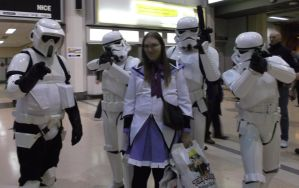 Me With Troopers by Zoe-the-Pink-Ranger