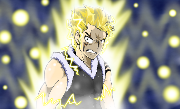 Mission~Angry Laxus by DragonShooter