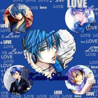 Kaito Shion collage by Xendrak18