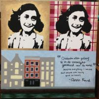 An Artwork for Anne Frank by atsbw