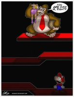 Even Donkey Kong knows to ask. by geogant