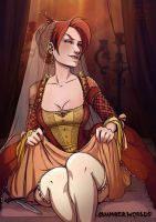 Slumberworld: Courtesan 1 by Kate-FoX