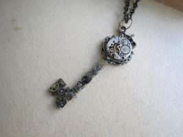 Steampunk Robotic key by LsUnique