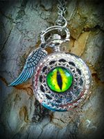 Time Dweller Pocket Watch 2 by ArtByStarlaMoore