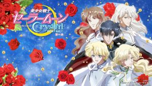 Sailor Moon Crystal - Shitennou =BluRay Menu Ver= by ChibiRikku
